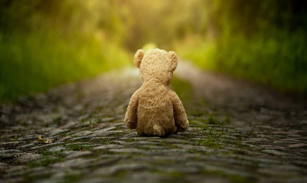 Ledsen björn